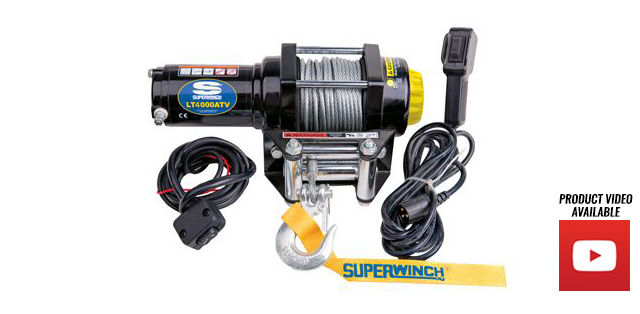 Superwinch LT Series ATV/UTV Utility Winches