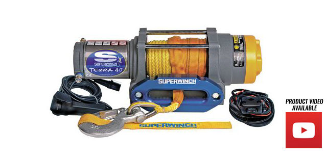 Superwinch Terra Series ATV/UTV Winches