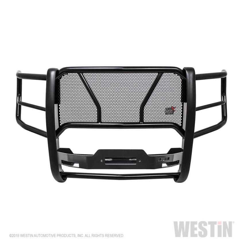 Westin 57-93905 Black HDX Winch Mount Grille Guard