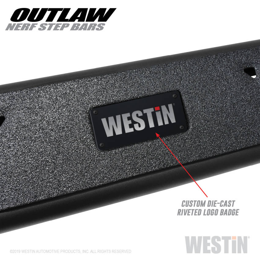 Westin 58-53725 Textured Black Nerf Bar