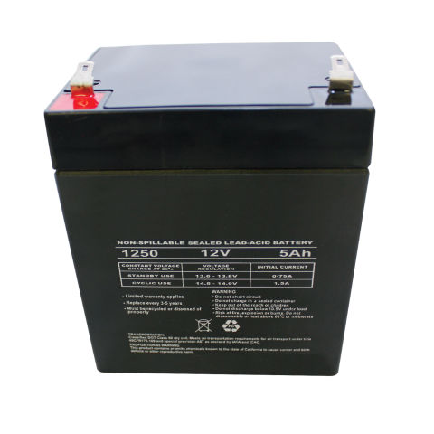Replacement 5 AMP Battery